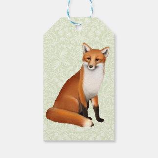 Kleine rote Fuchs-Geschenk-Umbauten Geschenkanhänger