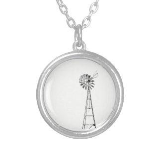 kleine runde Halskette der kleinen Windmühle