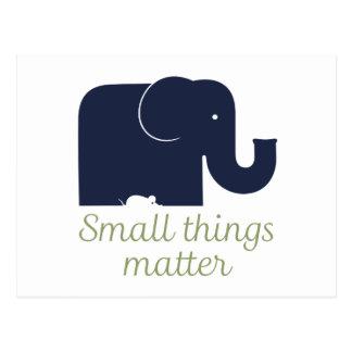Kleine Sachen matter.pdf Postkarte