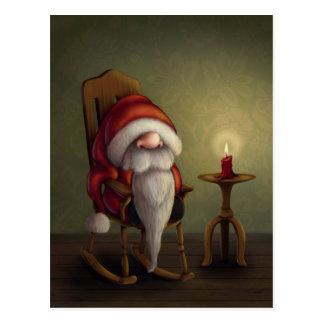 Kleine Sankt in seinem Schaukelstuhl Postkarte