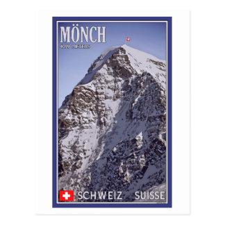 Kleine Scheidegg - das Mönch Postkarte