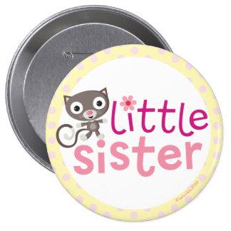 kleine Schwester-Abzeichen/Knopf Runder Button 10,2 Cm
