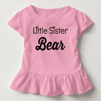 Kleine Schwester-Bär Kleinkind T-shirt