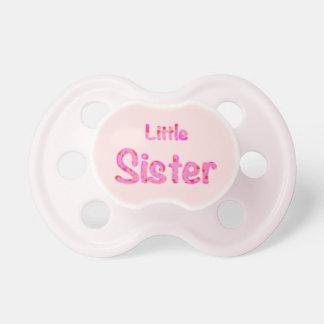 Kleine Schwester Binky Schnuller