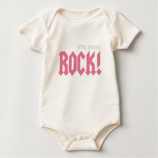 Kleine Schwester-Felsen! Baby Strampler
