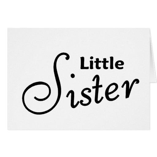 Kleine Schwester Karten