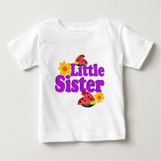 Kleine Schwester-Marienkäfer Baby T-shirt