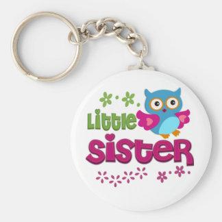 Kleine Schwester Standard Runder Schlüsselanhänger