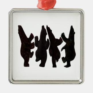 Kleine Tänzer Silbernes Ornament