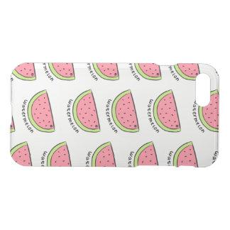 Kleine Wassermelonen transparenter iPhone Fall iPhone 8/7 Hülle