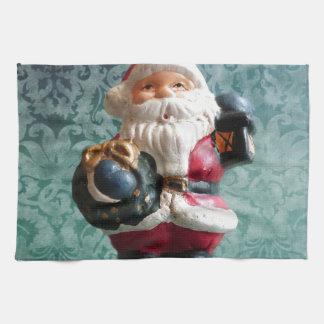 Kleine Weihnachtsmann-Zahl Handtuch