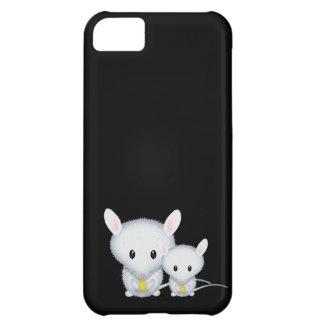 Kleine weiße Mäuseniedliche Nagetiere iPhone 5C Hülle