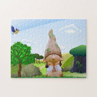 Kleinen Kobold-St Patrick TagesFoto-Puzzlespiel Puzzle