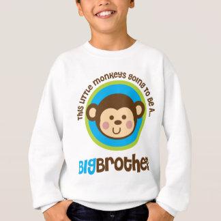 Kleiner Affe, der geht, ein großer Bruder zu sein Sweatshirt