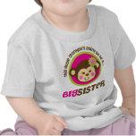 Kleiner Affe, der geht, eine große Schwester zu se Shirt