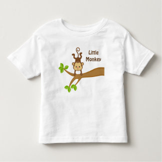 Kleiner Affe-kundenspezifischer Kleinkind T-shirt