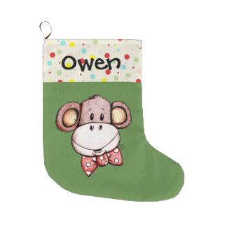 Kleiner Affe-niedlicher WeihnachtsStrumpf Großer Weihnachtsstrumpf