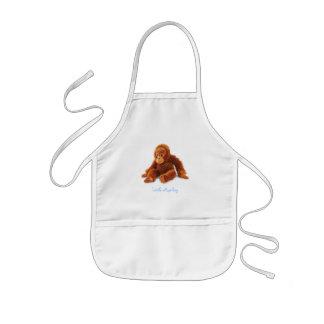 Kleiner Affe Kinderschürze