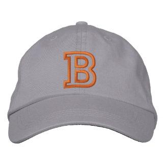 """Kleiner athletischer Buchstabe """"B"""" Baseballkappe"""