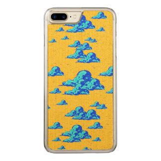 Kleiner blauer Wolken-Kasten Carved iPhone 8 Plus/7 Plus Hülle