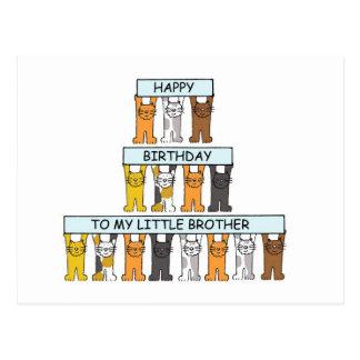 Kleiner Bruder alles Gute zum Geburtstag der Postkarten