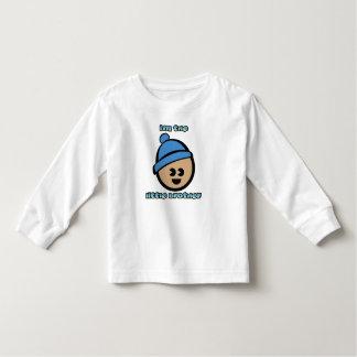 """""""Kleiner Bruder-"""" Kleinkind-langer Hülsen-T - Kleinkinder T-shirt"""