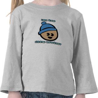 """""""Kleiner Bruder-"""" Kleinkind-langer Hülsen-T - Shir T-shirt"""