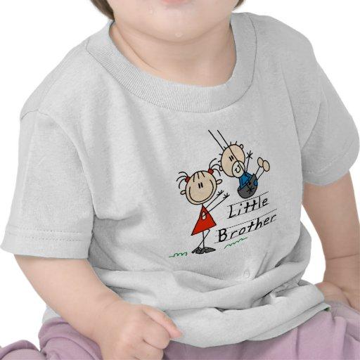Kleiner Bruder mit große Schwester-T-Shirts
