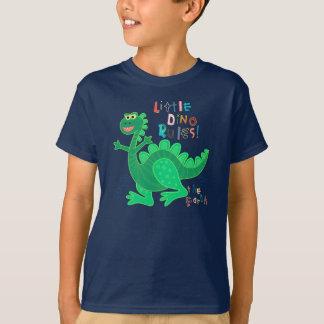 Kleiner Dino ordnet die Erde an T-Shirt