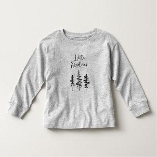 Kleiner Forscher, Waldbaum-Kleinkind-Shirt Kleinkind T-shirt