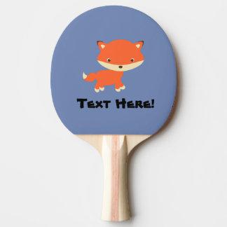 Kleiner Fuchs Tischtennis Schläger