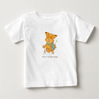 Kleiner Fuchs wollen, um draußen zu gehen Baby T-shirt