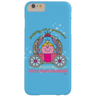 Kleiner funkelnder Wagen Fräulein-Prinzessin | Barely There iPhone 6 Plus Hülle