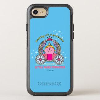 Kleiner funkelnder Wagen Fräulein-Prinzessin | OtterBox Symmetry iPhone 8/7 Hülle