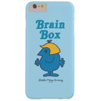 Kleiner Gehirn-Kasten Fräulein-Brainy | Barely There iPhone 6 Plus Hülle