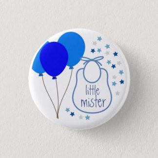 Kleiner Herr (es ist ein Junge), Knopf Runder Button 2,5 Cm