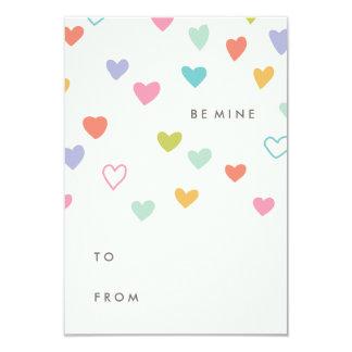 Kleiner Herz-Klassenzimmer-Valentinsgruß 8,9 X 12,7 Cm Einladungskarte