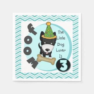 Kleiner Hundeliebhaber-3. Papierservietten