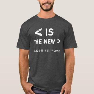 Kleiner ist mehr T-Shirt