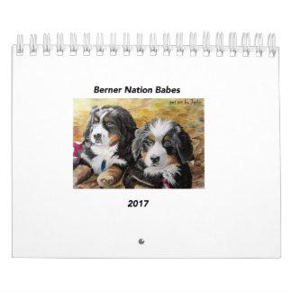Kleiner Kalender der Berner Nations-Baby-2017
