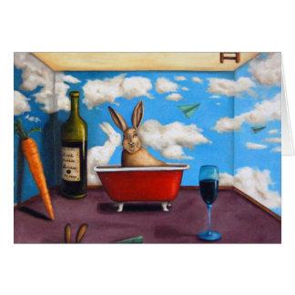 Kleiner Kaninchen-Geist Grußkarten