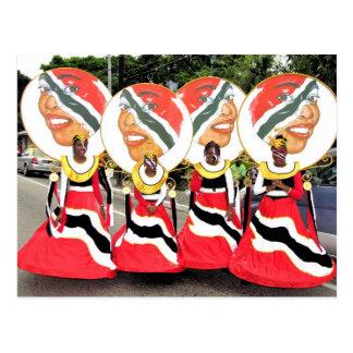 Kleiner-Karneval, Trinidad und Tobago Postkarte