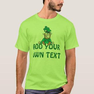 Kleiner Kobold - addieren Sie Ihren eigenen Text T-Shirt