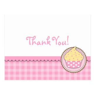 Kleiner Kuchen danken Ihnen, Postkarte zu