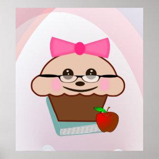 Kleiner Kuchen für Lehrer Plakate