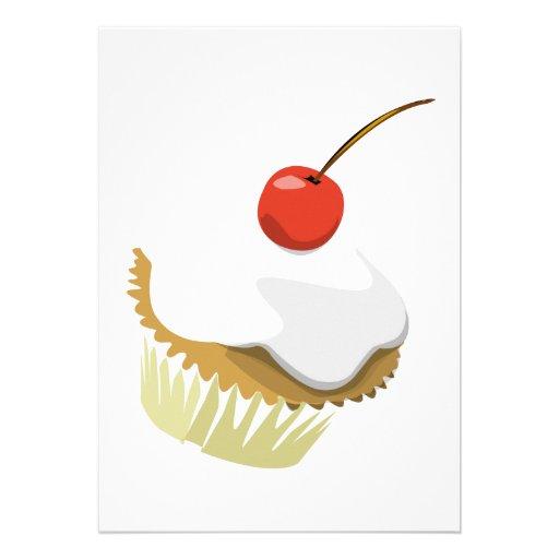 Kleiner Kuchen invitiation Individuelle Ankündigungskarte