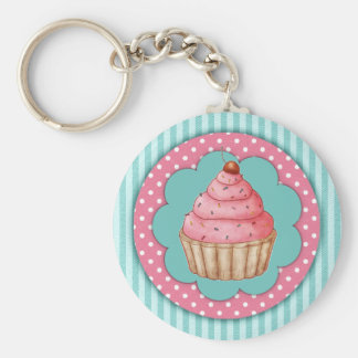 Kleiner Kuchen Keychain Schlüsselbänder