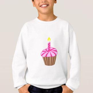 Kleiner Kuchen mit Kerze Sweatshirt