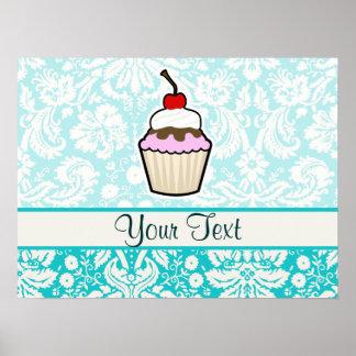 Kleiner Kuchen niedlich Posterdruck