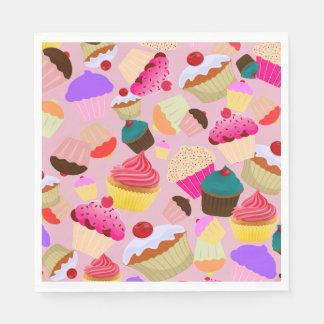 Kleiner Kuchen Serviette